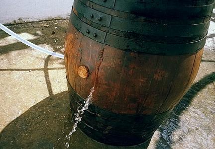Como curar um barril